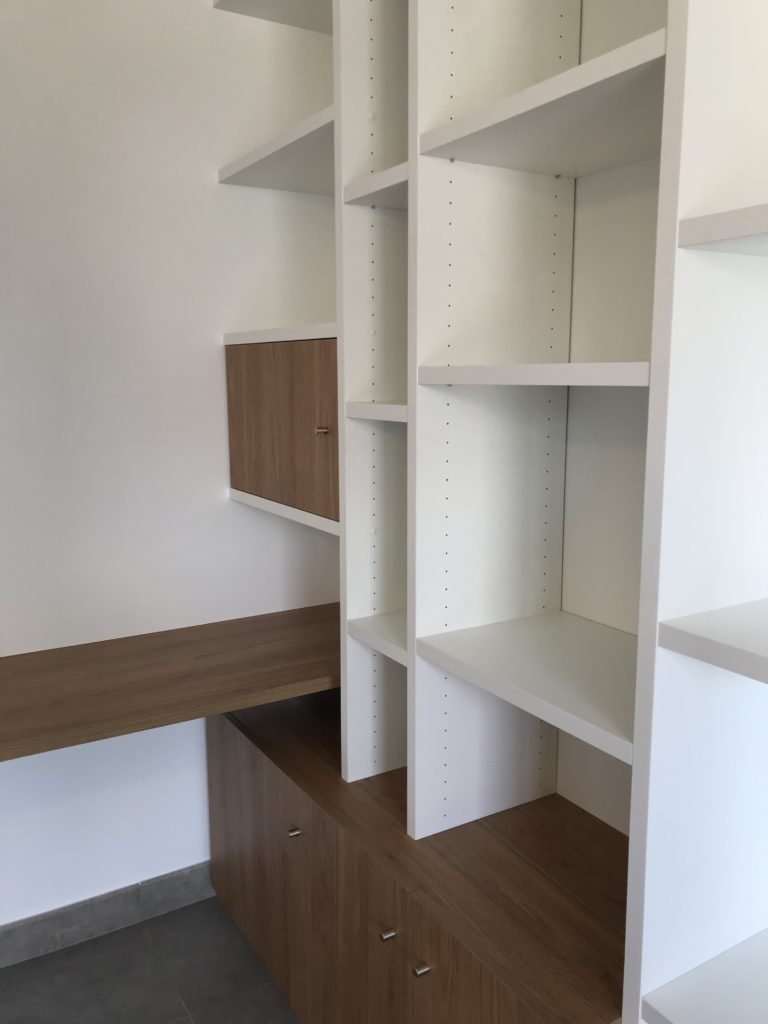 Création de bureau complet en bois 3