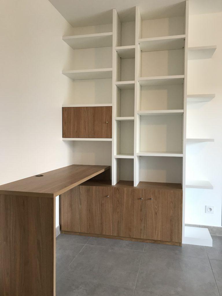 Création de bureau complet en bois
